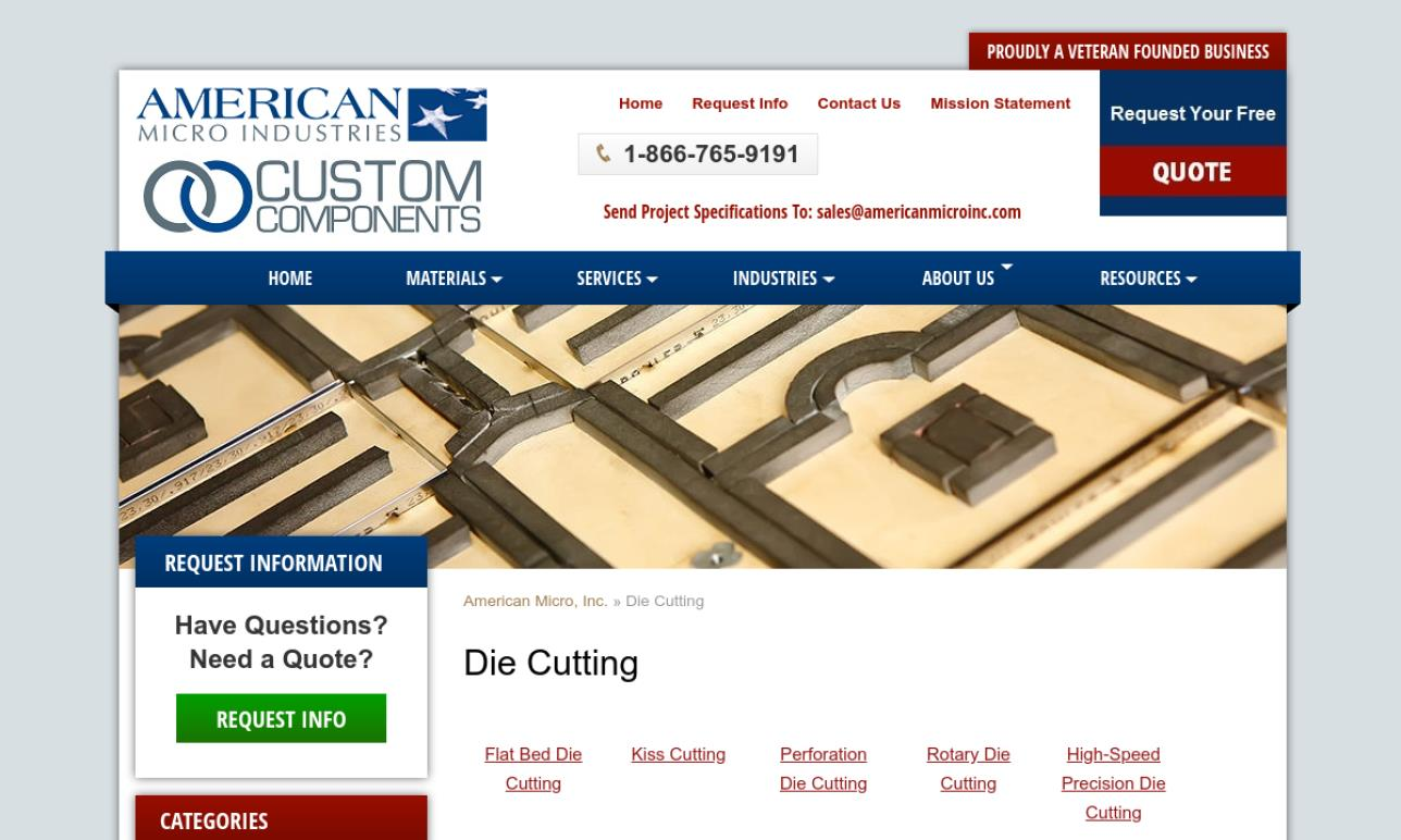 Custom Components- Division of American Micro Industries