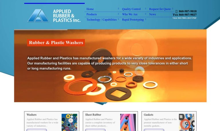 Applied Rubber & Plastics, Inc.