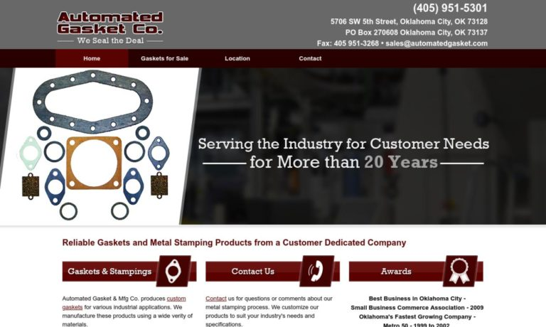 Automated Gasket Co.