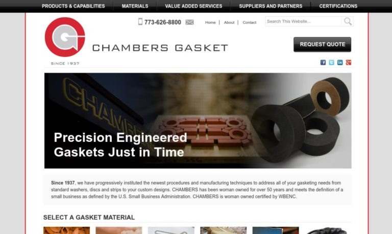 Chambers Gasket & Manufacturing Company