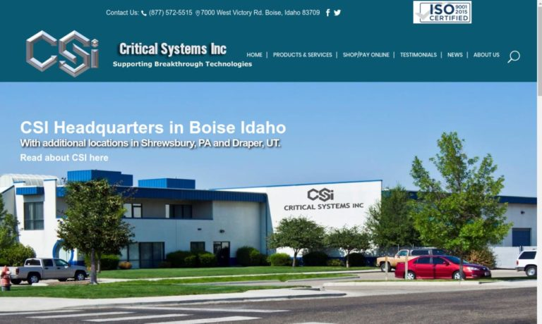 Critical Systems, Inc.
