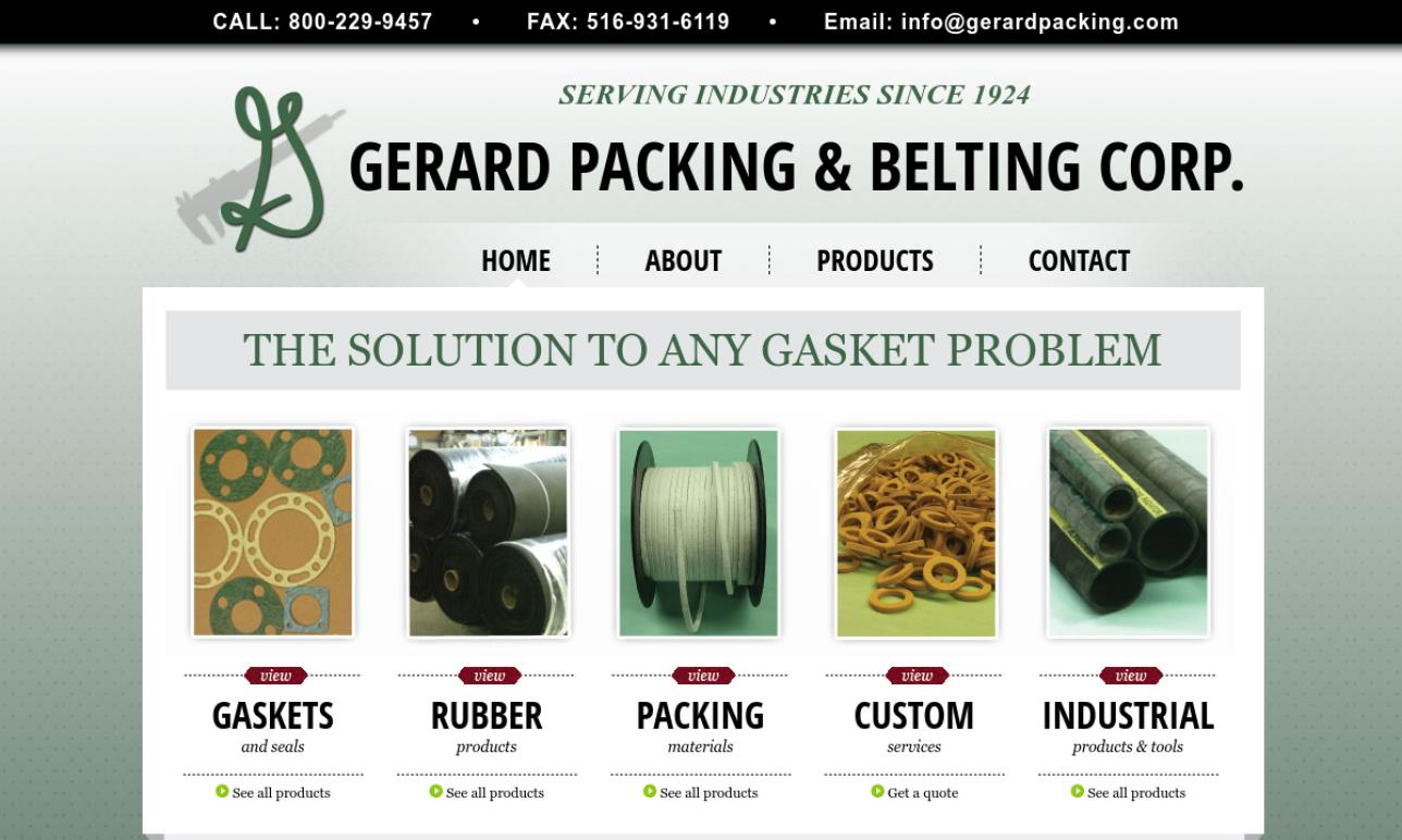 Gerard Packing and Belting Corp.