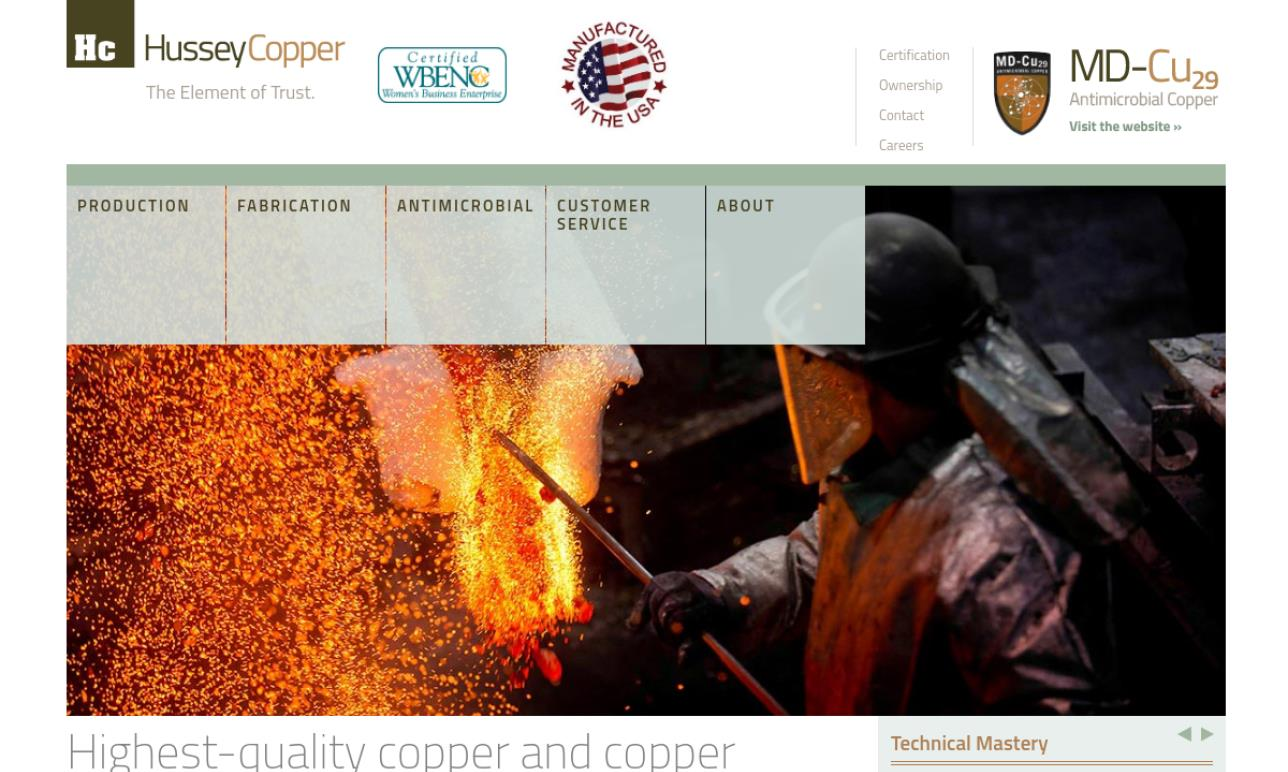 Hussey Copper Ltd.