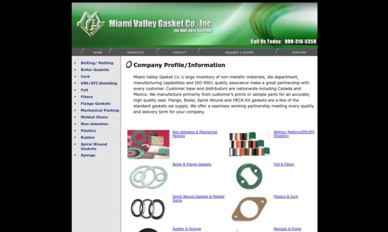 Miami Valley Gasket Co., Inc.