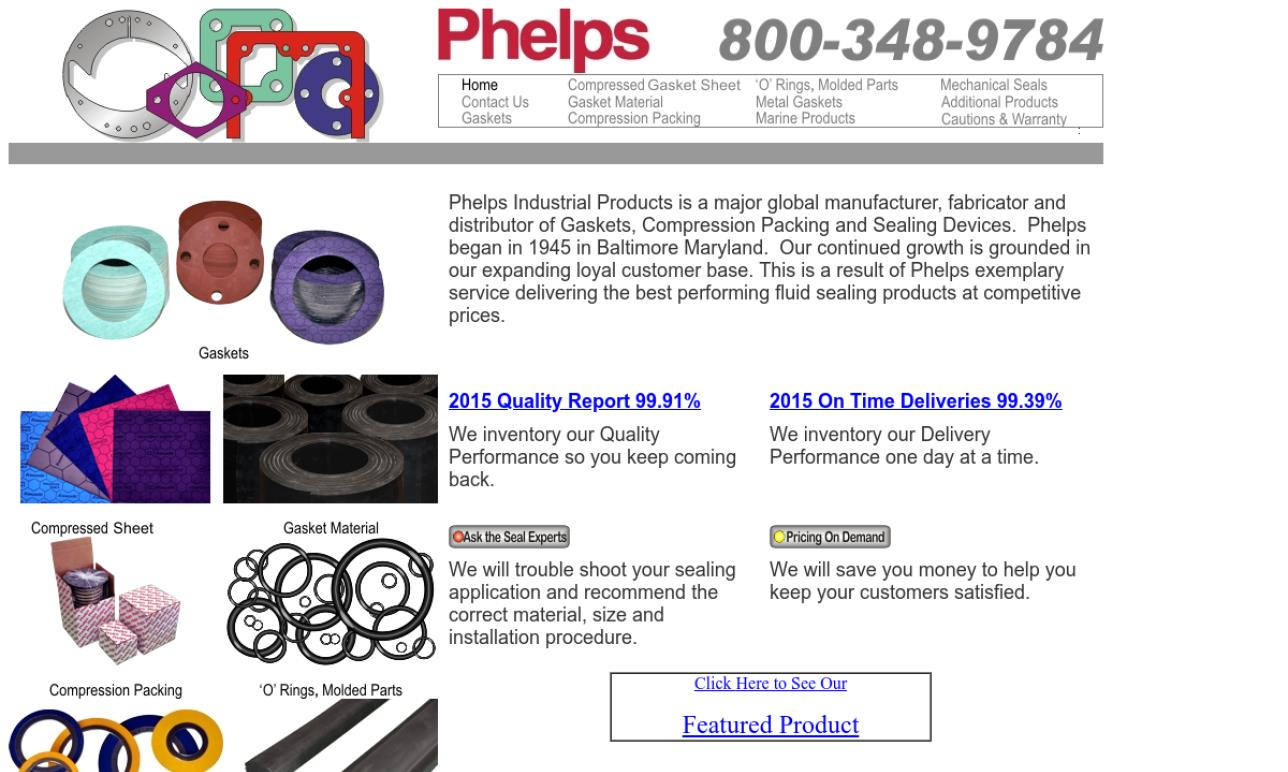 Phelps Industrial Products, Inc.