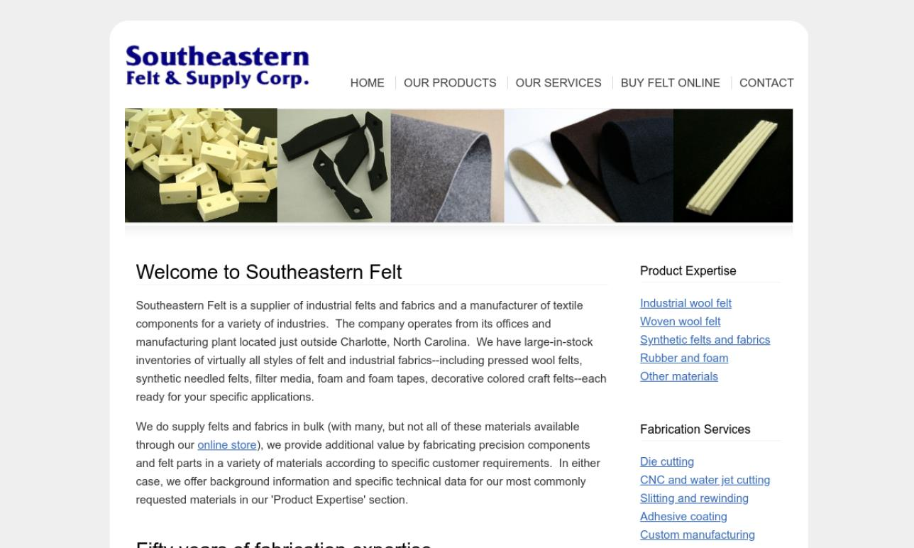 Southeastern Felt & Supply Corp.