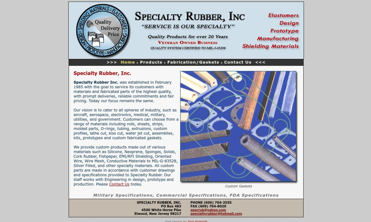 Specialty Rubber Inc.