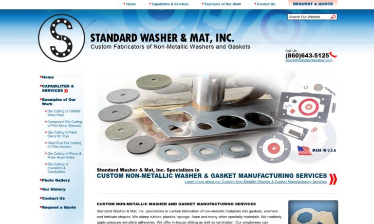 Standard Washer & Mat, Inc.
